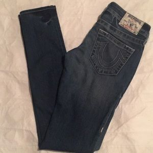 True Religion Section Skinny Jeans Size 24